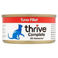 Thrive Complete Tuna Fillet for Cats - Трайв Полнорац Консерв Влажный Корм для Кошек Тунец 75г