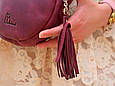 """Сумка женская круглая кожаная через плечо """"Fantasy"""", фото 6"""