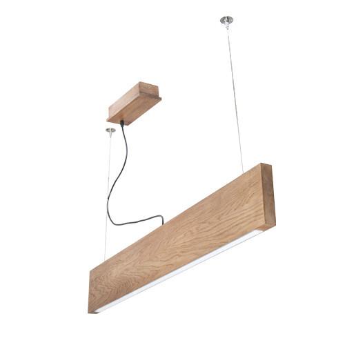 Деревянный LED светильник Vela Ramita