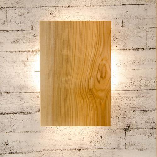 Настенный светильник из дерева Vela FourSides 9 Вт