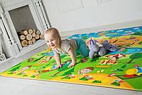 Развивающий коврик Bugs Парк Розваг 2300x1400x15 мм Разноцветный 6901423156715, КОД: 767168