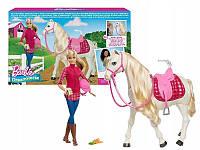 Набор Всадница и танцующая лошадь Barbie (FRV36)