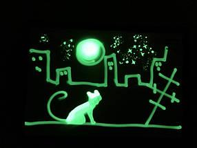Малюй Світлом набір для творчості А4 21х30 см подаруйте дитині радість, фото 3