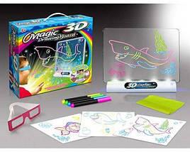 Доска для рисования Toy 3D Magic развивает воображение у ребенка, фото 3