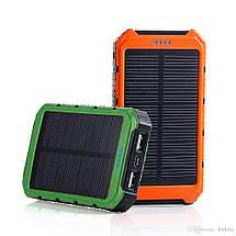Павер Банк на солнечной батарее, с дисплеем 20000 mah (реплика) цвета в ассортименте , фото 3