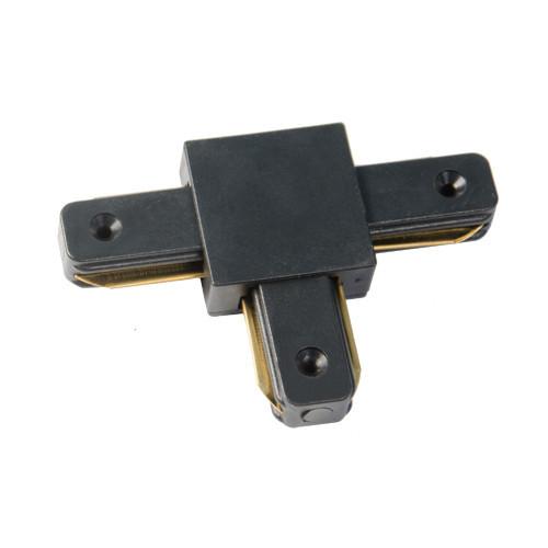 Соединитель шинопровода 2-TRACK-Т образный черный
