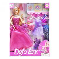 """Кукла """"Defa Lucy"""", с нарядами (в розовом) 8269 scs"""