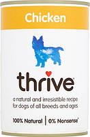 Thrive Dog Complete Chicken -Трайв Повнораціонний Консервир Вологий корм для Собак Курка 375г