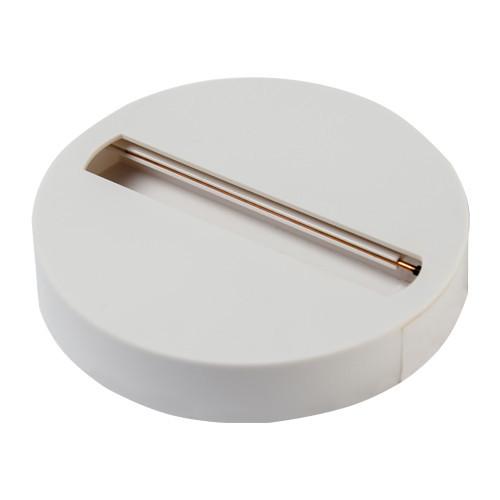Адаптер накладной круглый MZ-100 белый