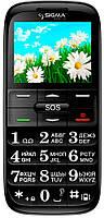 Телефон Sigma Comfort 50 slim Black