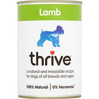 Thrive Dog Complete Lamb -Трайв Полнорационный Консервированный Влажный корм для Собак Ягненок 375г