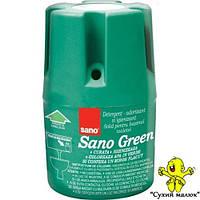 Засіб для миття та дезінфекції унітазу SANO Green 150g (900 зливань)  - CM02063