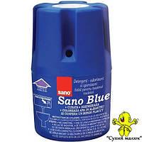 Засіб для миття та дезінфекції унітазу SANO Blue 150g (900 зливань)  - CM02000