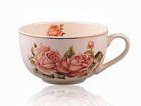 Чашка Корейская роза 400 мл  86-974-1