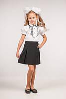 Юбка школьная классическая для девочки, размеры 28, 30,32, 34. (Ю-83)
