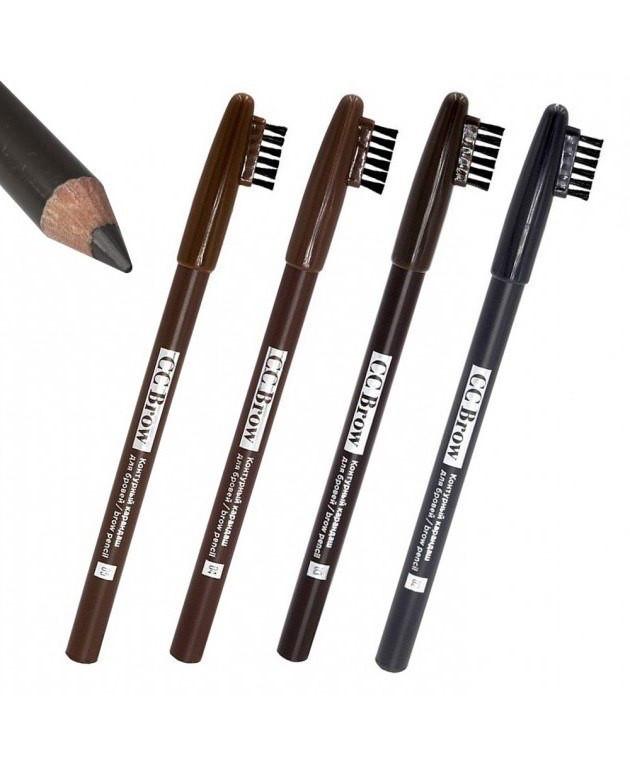 Контурный карандаш для бровей Cc brow ( темно-коричневый)