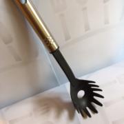 Ложка для спагети термопластиковая с нерж. ручкой 32см