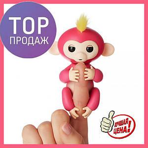 ИНТЕРАКТИВНАЯ FINGERLINGS MONKEY l Игрушка обезьянка l Смешливая обезьянка розовая