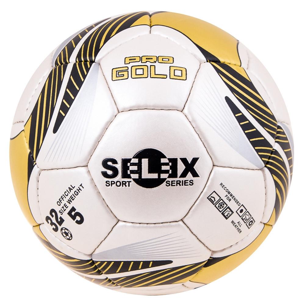 Мяч футбол Grippy PRO GOLD Pearl Golden/Black RX- PGG
