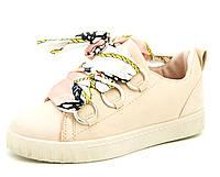 Кроссовки для девочек и женщин Розовые Размеры: 36-41