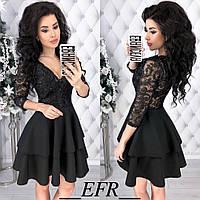 Платье женское нарядное гипюровое, фото 1