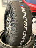 Оригінальні чохли для коліс BMW M Performance 36132461758, фото 5