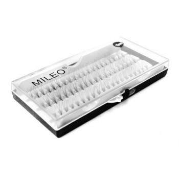 Пучковые ресницы Mileo 15 мм