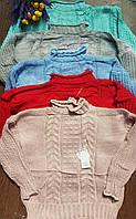 Женский вязаный свитер универсальный р-р 42-48. Китай