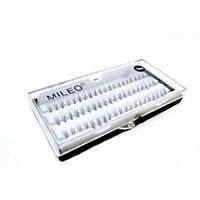 Пучковые ресницы Mileo 12 мм