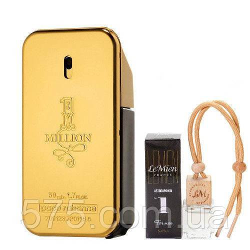 Авто парфюм Французский Paco Rabanne 1 Million. Ароматизаторы автомобильные