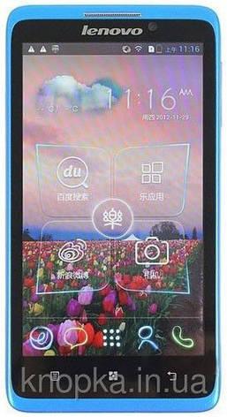 Смартфон Lenovo S890 MTK 6577T Dual Core Android 4.1 (Blue) (1Gb+4Gb), фото 2