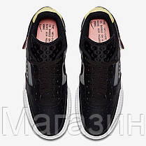 "Женские кроссовки Nike Air Force 1 Low Type N. 354 ""Black"" CI0054-001 (Найк Аир Форс) черные, фото 2"