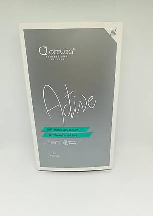 Сыворотка против выпадения волос Occuba Professional Therapy Active Anti Hair-Loss Serum 10 х 5мл (1085), фото 2