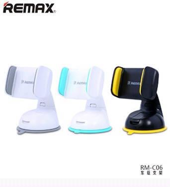Автодержатель для телефона на торпеду «Remax . RM - C06» Black, фото 2