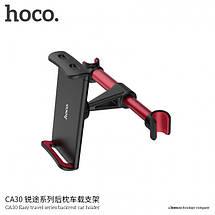 Тримач для планшета в машину «Hoco - CA30 Easy Travel Series, Backrest» Black&Red, фото 2