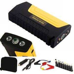 Автомобильный павер банк jump starter Powerbank 16800 mah зарядное устройство для старта машины