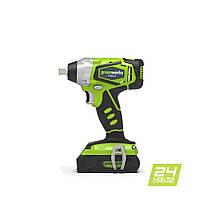Гайковерт ударный аккумуляторный Greenworks G24IW (300 Нм)