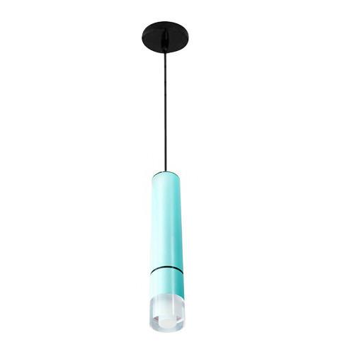 Подвесной светильник с акриловым рассеивателем VL-MK-15-A голубой