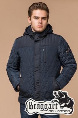Синяя мужская зимняя куртка (р. 46-54) арт. 30538H