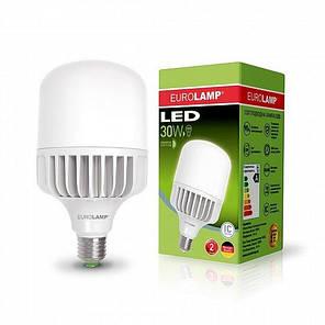 Светодиодная EUROLAMP LED Лампа высокомощная 30W E27 6500K, фото 2