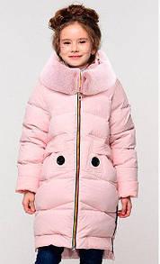 Теплое пальто на зиму детское подростковое
