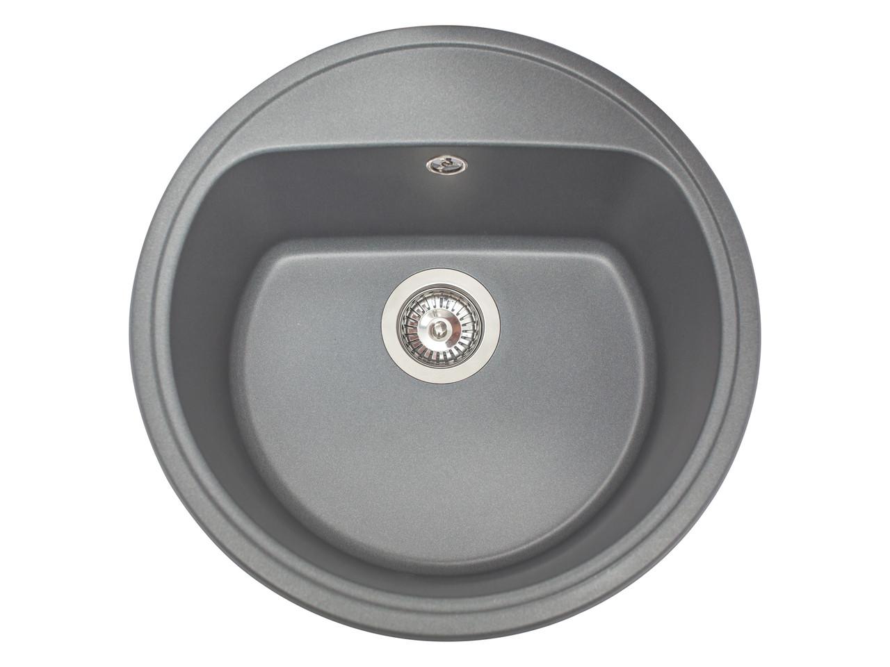 Кухонная мойка гранитная MIRAGGIO MALIBU gray
