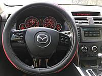 Оплётка на руль ABSOLUTE M бордовый