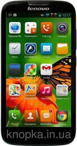 Смартфон ORIGINAL Lenovo A560 (0,5Gb+4Gb) Qualcomm MSM8212 Quad Core Android 4.3 (Black), фото 2