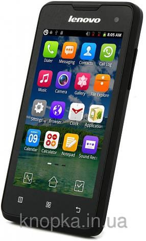 Смартфон ORIGINAL Lenovo A396 (0.25Gb+0.5Gb)Spreadtrum SC8830A Quad Core Android 2.3.5 (Black), фото 2