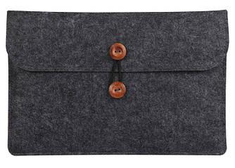 Чехол для iPad / MacBook Air / MacBook Pro. Темно-Серый /