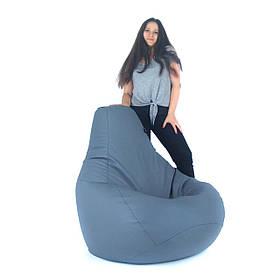 Кресло Мешок, бескаркасное кресло Груша от S до XXL эко-кожа