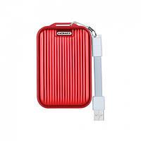 Power Bank original Momax  10000 mAh - (IP58) iPower Go mini 3 QC3.0 & Dual USB  - Red павер банк зарядное устройство повербанка