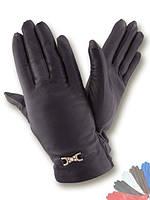 Женские перчатки из натуральной кожи модель 078 на шерстяной подкладке