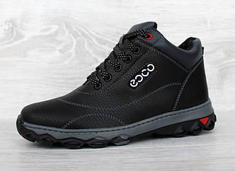 36 и 38 р. Зимние ботинки подростковые для мальчиков (Сгд-3ч)